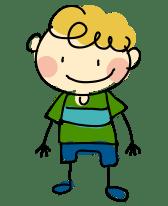 Cartoon Boy - Discovery Town
